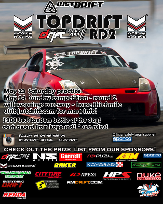 TOPDRIFT RD2 RESULTS CLICK ON FLYER