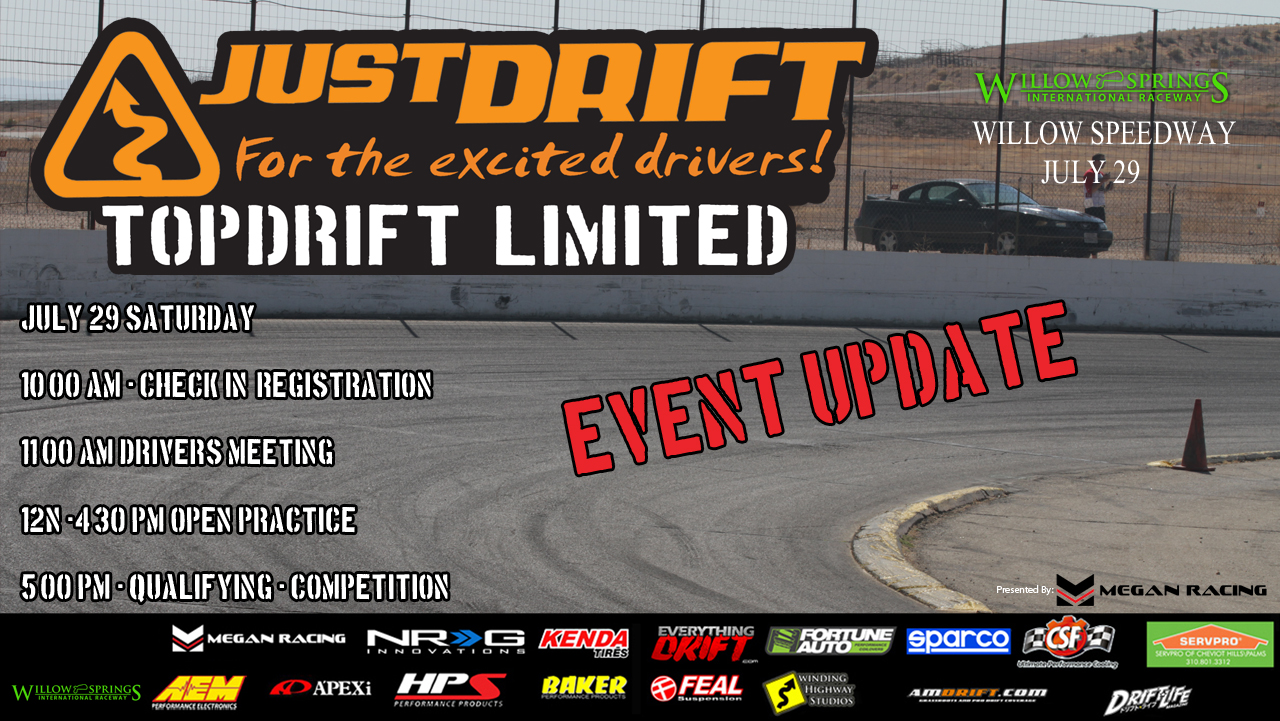 Registration for topdrift limited round 3